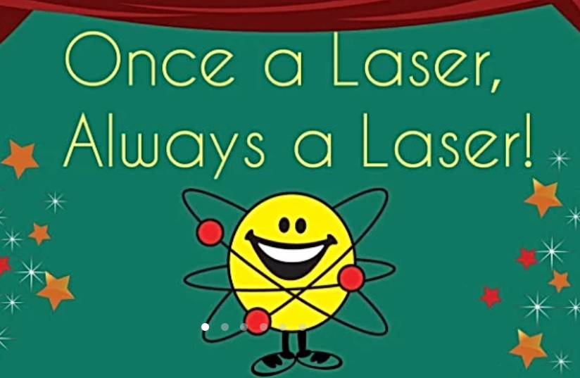 Once a Laser