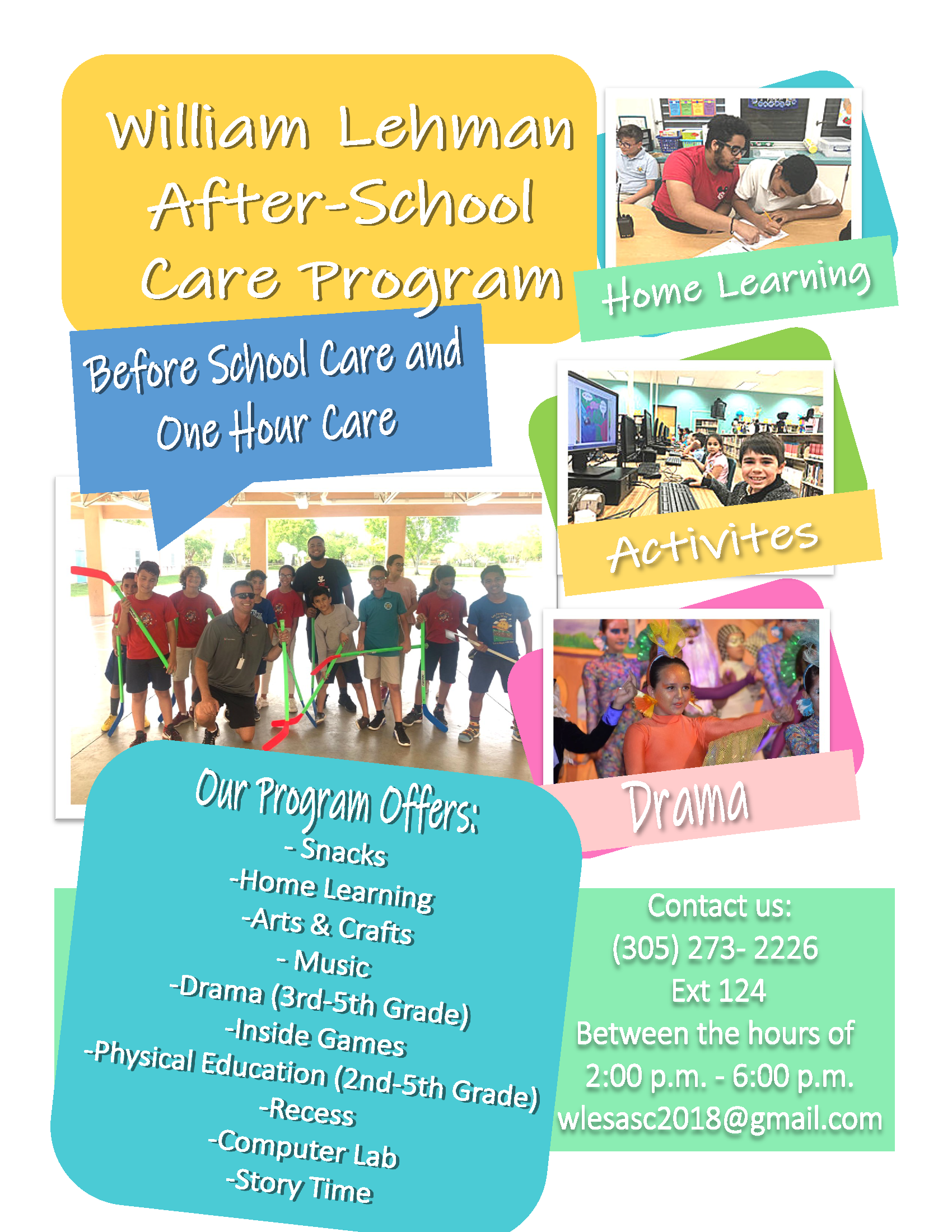 After-School Care Flyer