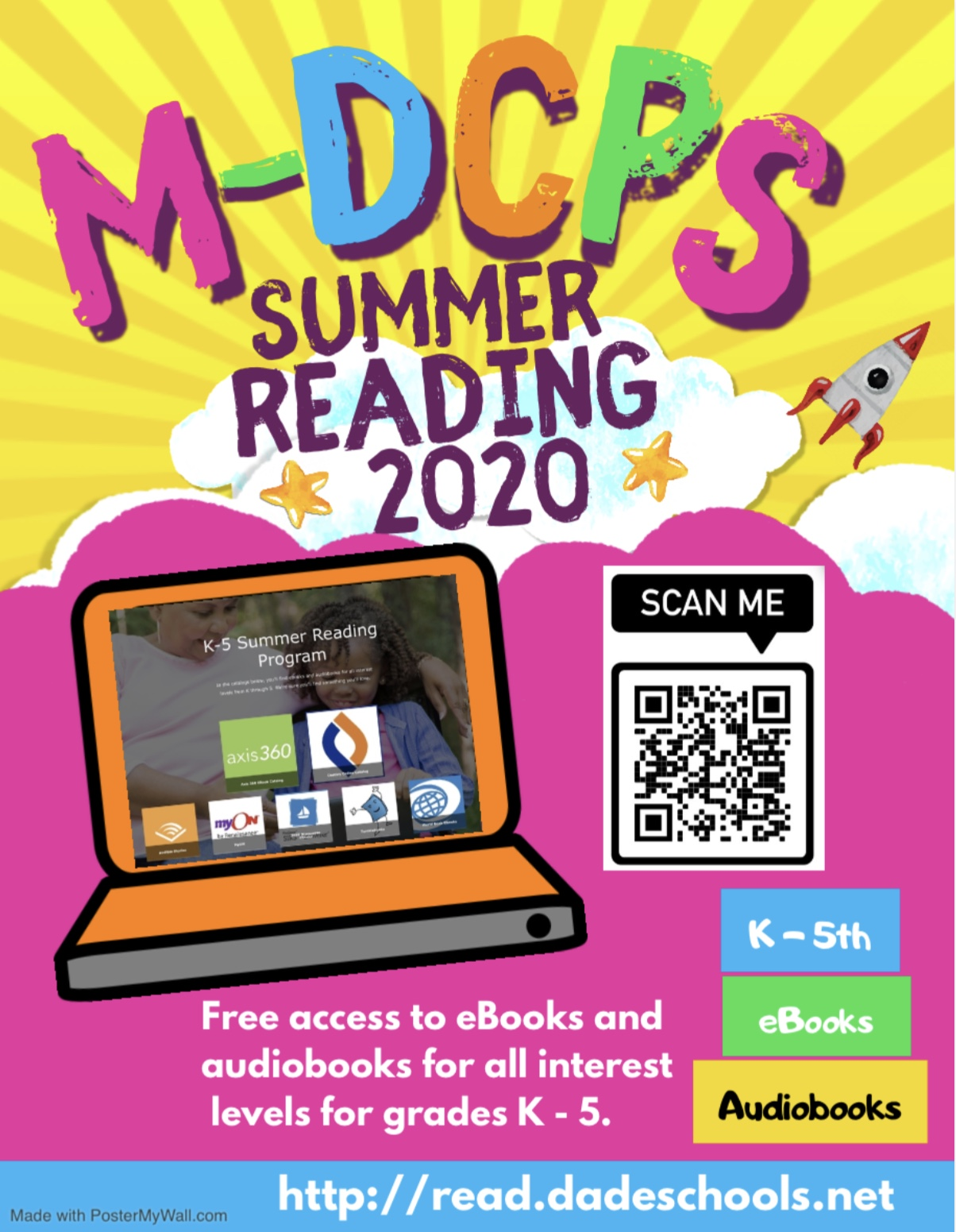 Summer Reading Program Poster