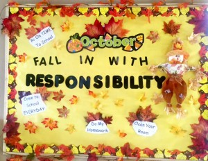 Fall in with Responsibility