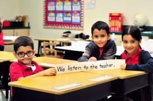 We Listen to our Teacher