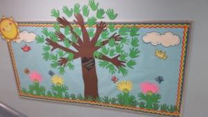 Kindergarten kindness Tree (Start with Hello)