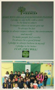 KLE Start with Hello Kindness Pledge